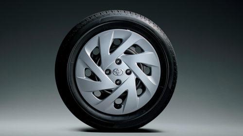 185/60R15タイヤ&15×5½Jスチールホイール&樹脂フルキャップ
