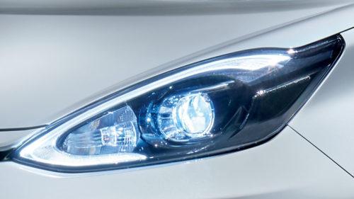 Bi-Beam LEDヘッドランプ(ダークスモークエクステンション加飾)