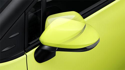 LEDサイドターンランプ付電動格納式リモコンカラードドアミラー